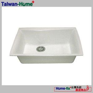 [Home-fix+台灣系統]YUNGYUIN人造石水槽HDB012-S725-N無限服務