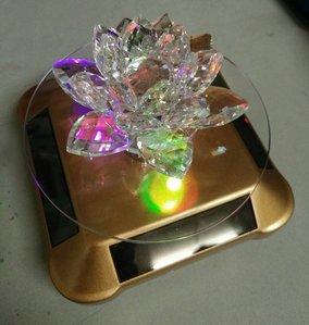轉運光明燈節能環保太陽能LED水晶蓮花燈2