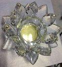 黃金招財水晶蓮花燭台 可依需求客製化設計 製造 代工