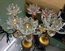 轉運光明燈節能環保太陽能LED水晶蓮花燈5