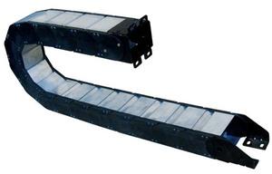 重型封閉式金屬蓋鏈條護管  (護蓋可拆卸)