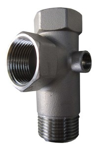 """DECCO   1""""-5 Way Stainless Steel Check Valve"""