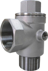 """DECCO   1-1/2""""-5 Way Stainless Steel Check Valve"""