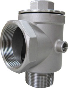 "DECCO   2""-5 Way Stainless Steel Check Valve"