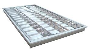 LED T5燈管4尺3管格柵燈空台