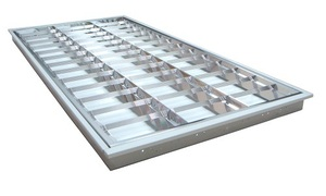 LED T5燈管4尺4管格柵燈空台
