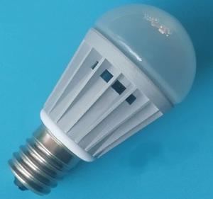 4W 球泡燈 外殼 套件 純鋁冷鍛 玻璃燈罩