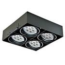 迎光LED AR111 燈具  有邊框 無邊框 單燈 雙燈 三燈 四燈 方形崁燈 盒裝崁燈 可調角度