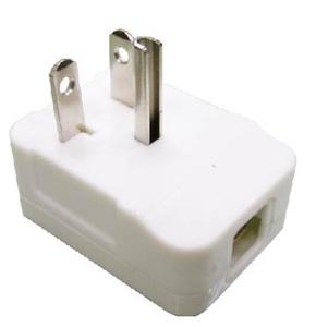 白色T型冷氣插頭