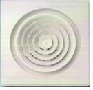 方型內圓旋轉出風口(裝潢用)