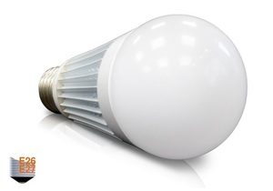 LED 12W Ball Bulb Fullface E27 E26