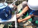 冷卻水塔-減速機軸承維修
