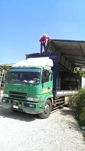 毆翼聯結車貨櫃車屋頂防水