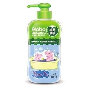 【博寶兒】植萃低敏沐浴露 650ml-佩佩豬