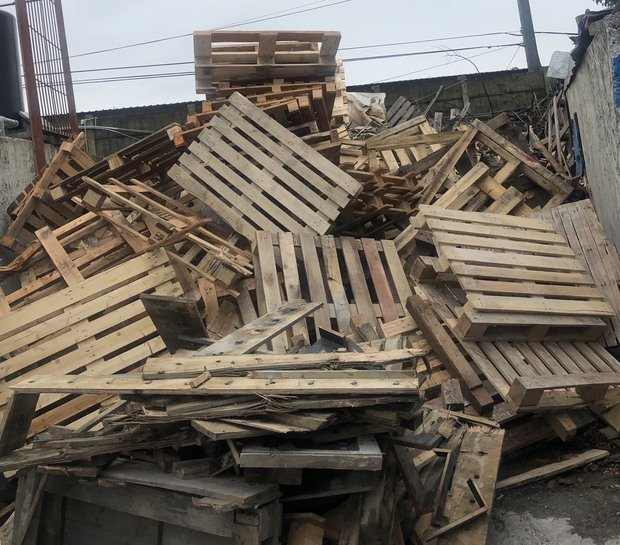 廢木材處理