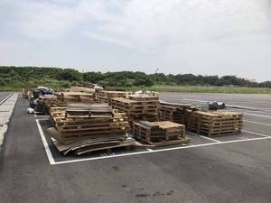 木頭棧板清除