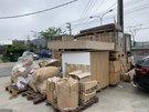 機械用木箱清除