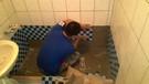 浴室整修:衛浴拆除、粗丕打底、防水、貼磚、衛配安裝、水電改管