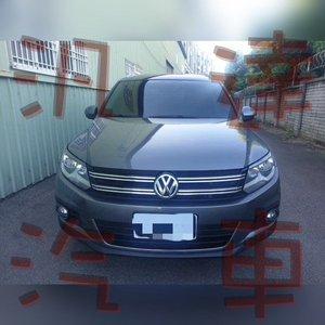 福斯 TIGUAN 帝觀 2012年 2.0cc中古車/二手車