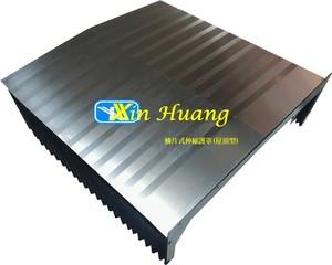 屋頂型鱗片式伸縮護蓋-石磨加工機