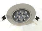 3吋珠寶崁燈 LED天花燈 LED崁燈 崁孔9cm 櫥櫃/珠寶燈 LED 10W 櫥櫃  崁燈