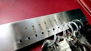 鑰匙圈客製化刻印