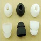 雙層耳機矽膠帽 入耳式耳機矽膠套 入耳式通用矽膠套
