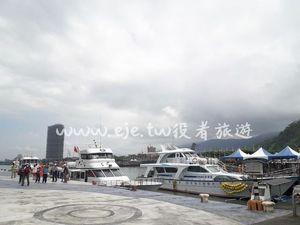 宜蘭礁溪包車旅遊-烏石港-賞鯨船