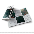 150P雙銅二折包摺-企業DM