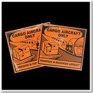 CARGO AIRCRAFT航空用貼紙