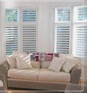 實木百葉窗簾~大氣您家的客廳 / 台中 實木百葉窗簾 訂做