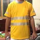 吸濕排汗-工作反光T恤  (CB-05)