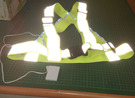 LED 反光織帶背心 (AA-19)